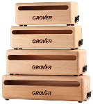 "Grover Percussn WB7 Grover Wood Block 7"" maple"