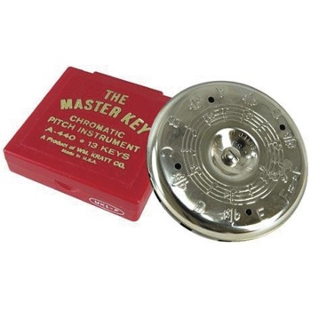 Kratt MK2 Master Key C-C Chromatic Pitch Pipe